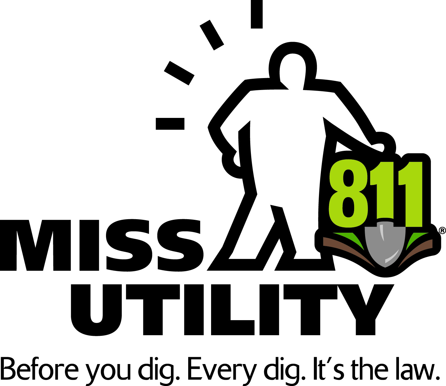 Call 811 Miss utility is your partner when it comes to safe digging! call 811