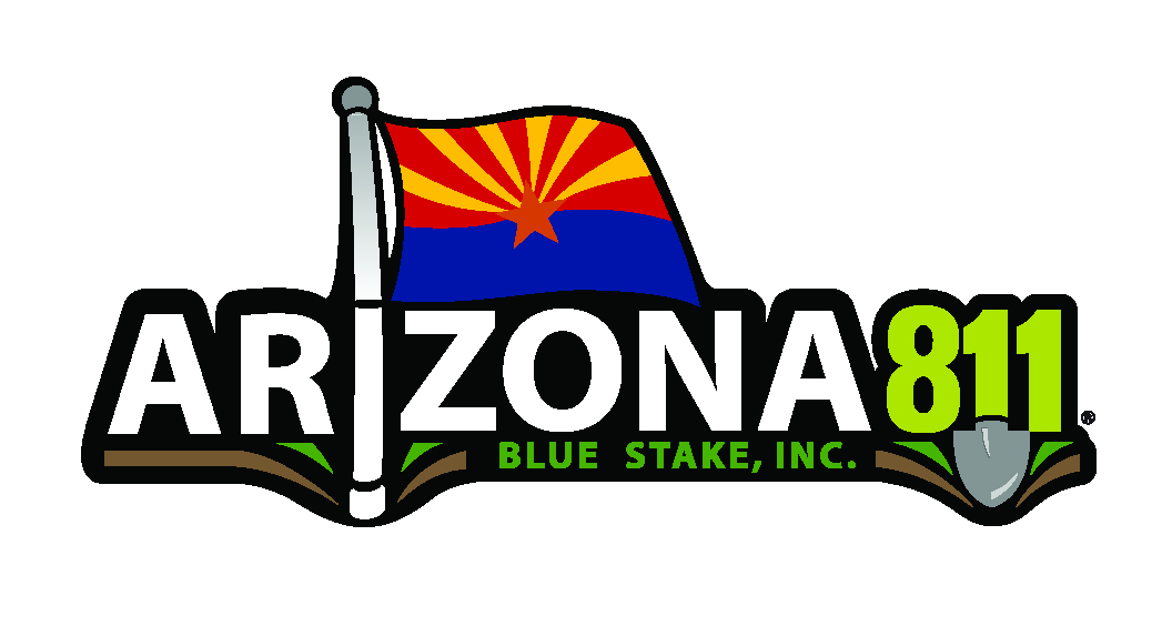 Logo of Arizona 811 Blue Stake, Inc.