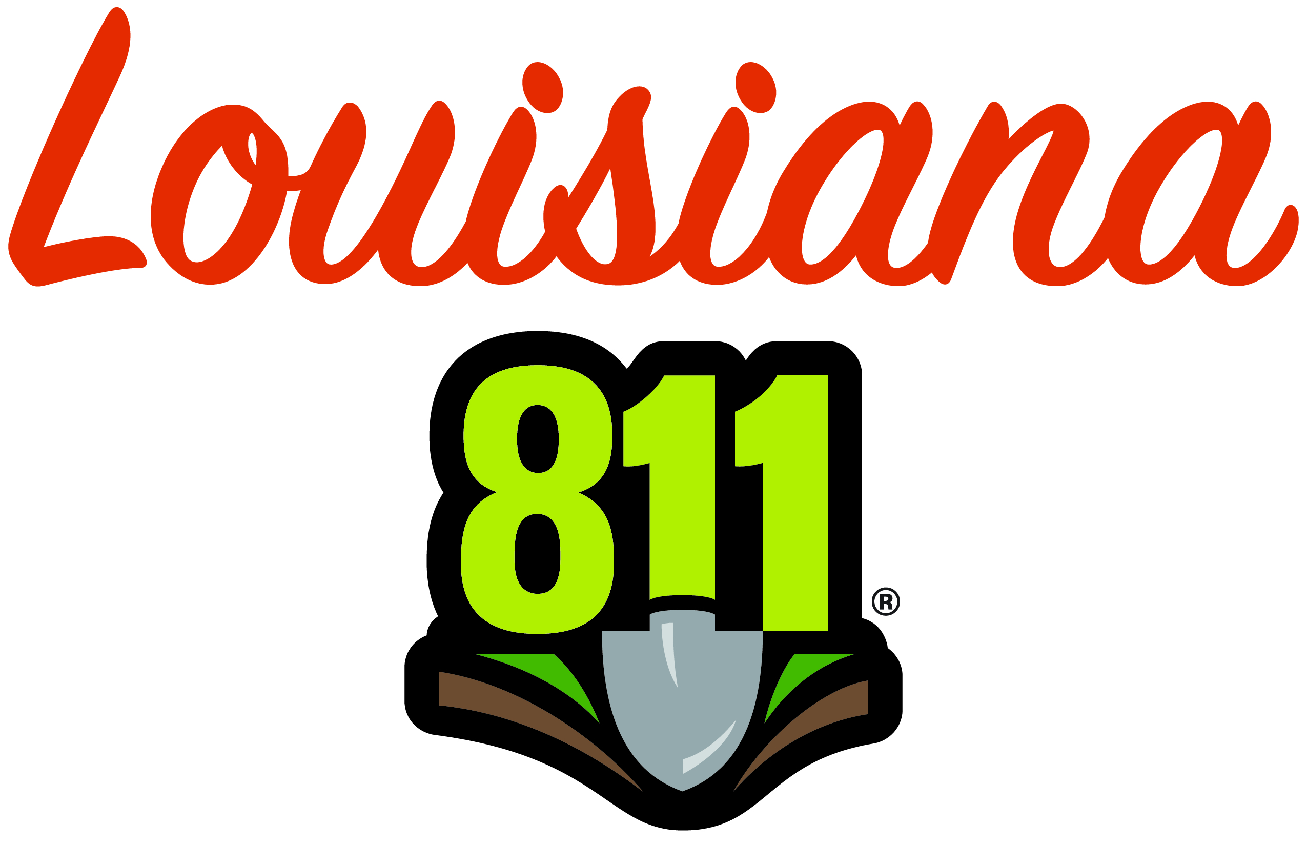 Logo of Louisiana One Call System