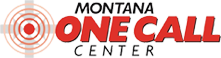 Logo of Montana One Call Center (Flathead and Lincoln Counties)