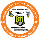Logo of Oregon Utility Notification Center